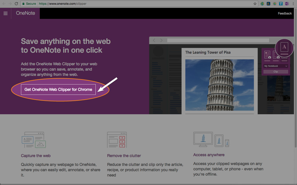 Integrate with OneNote | Tagdit